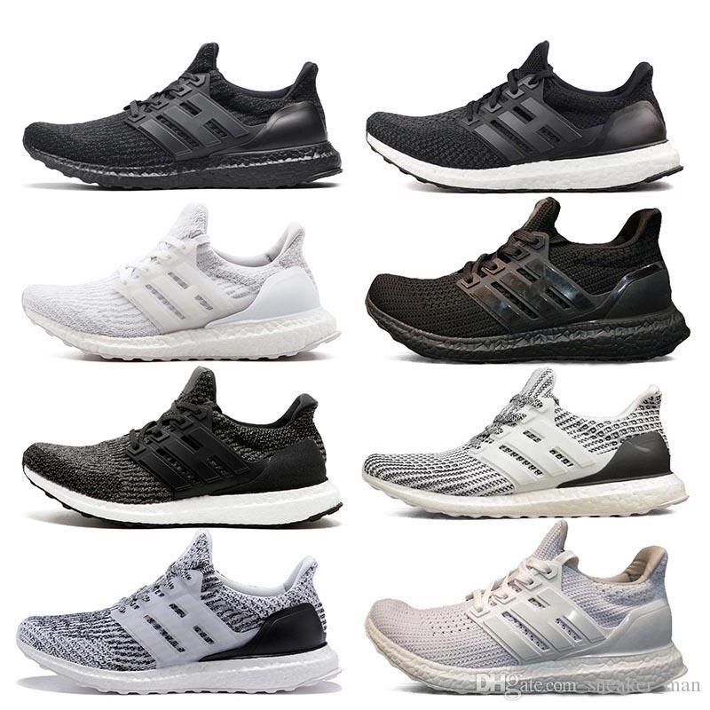 Ultra 3.0 Triple Black White Primeknit Oreo CNY Blue Grey 3.0 Running Shoes UB 4.0 Primeknit Sports Shoes 36-45