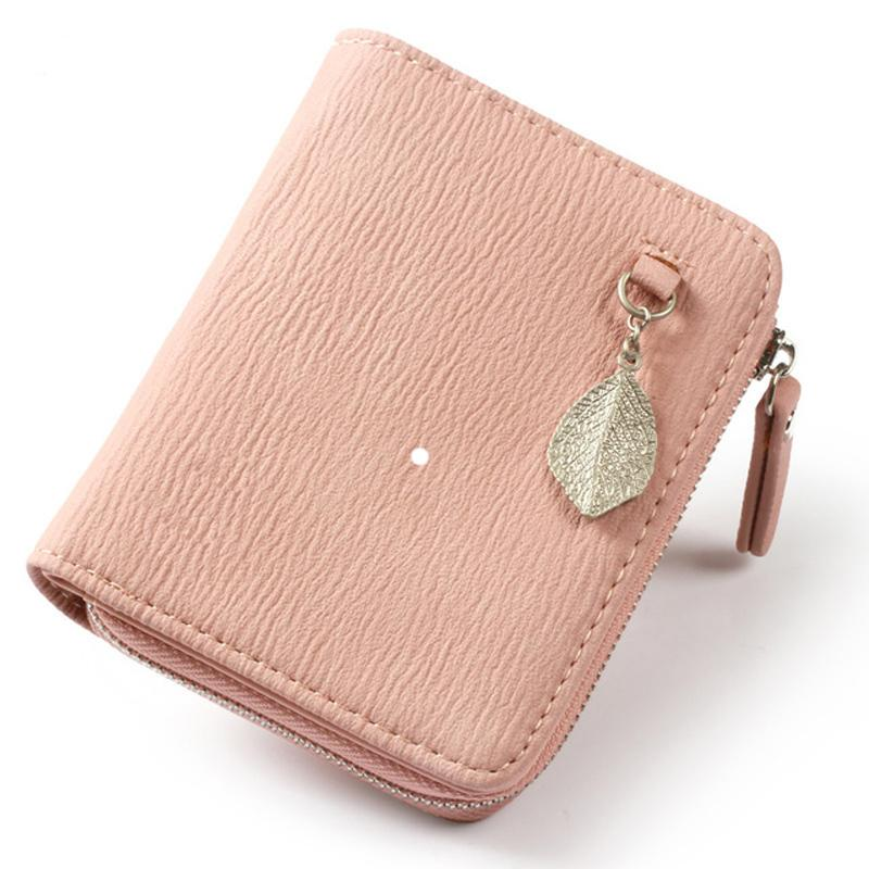 huge discount 158df b133a Pearl Angeli Small Wallet Women Purse Female Leather Wallet Leaf Sequined  Coin Purse Card Holder Wallet Case Carteira Feminina