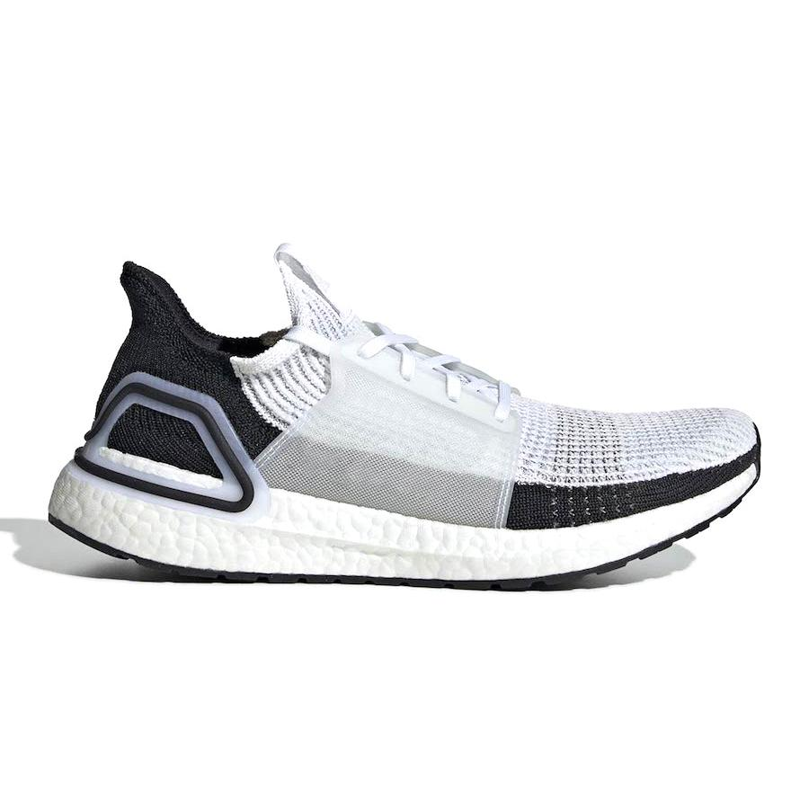 547055837f0e9 Cloud White Black Ultra Boost 2019 Ultraboost Mens Running Shoes ...