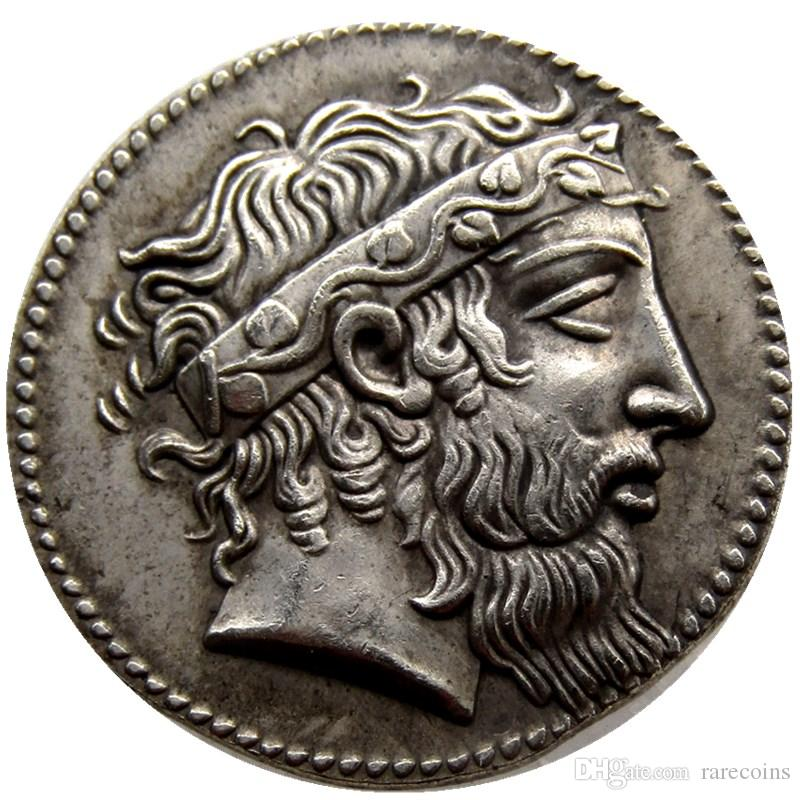 Großhandel G 09 Seltene Antike Griechische Münze 415 Tetradrachme