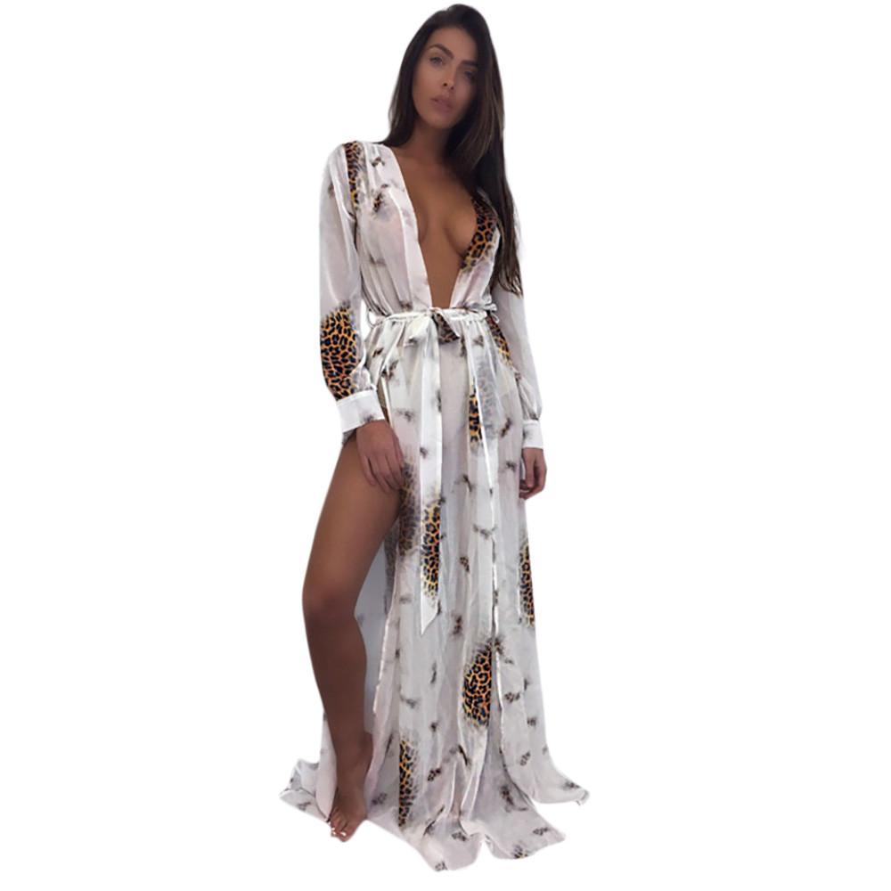 8008c8cc097dc 2019 2019 Vestidos Verano Womens Sexy Bikini Cover Up Swimwear Beach ...