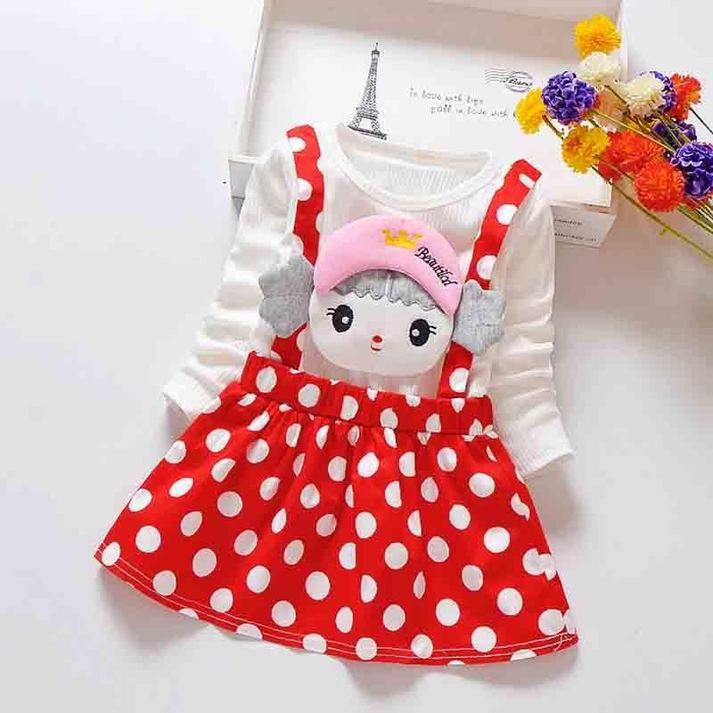 good quality girls dress 2019 fashion style children dresses for girls cute cartoon long sleeve princess dress autumn girl clothes