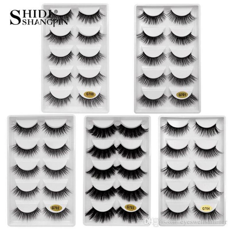825de8f3da0 3D Mink Lashes False Eyelashes Natural Makeup Eyelash Extension Long Cross  Volume Soft Fake Eye Lashes Winged Faux Cils Lash Extension Eyelash  Enhancer From ...