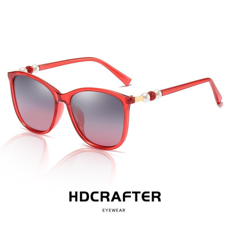 bee8aad693 2019 Luxury Brand Design HD Polarized Sunglasses Women Ladies Oversized  Square Gradient Sun Glasses Female Eyewear Oculos UV400 Online with  $41.11/Piece on ...