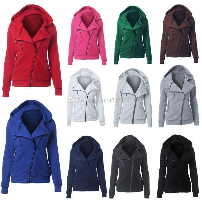 430424fb6c 2018 Autumn Winter Jacket Women Thick Coat Casual Girls Basic Jackets  Zipper Cardigan Sleeveless Jacket Female Coats Plus Size 3XL Brown Jacket  Mens ...