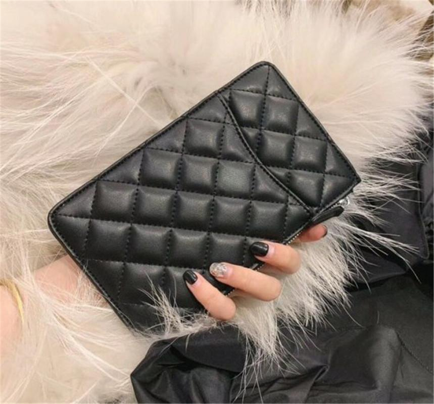 Best Selling Brand Wallet Womens Handbags Ladies Clutch Bag Brand Letter Handbag Fashion Card Package Mobile Phone Bag Explosion Square 19cm