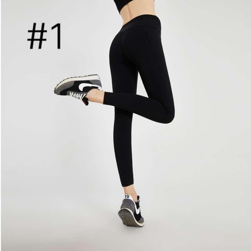 2020 New High Waist Raising Yoga Pants Sports Fitness