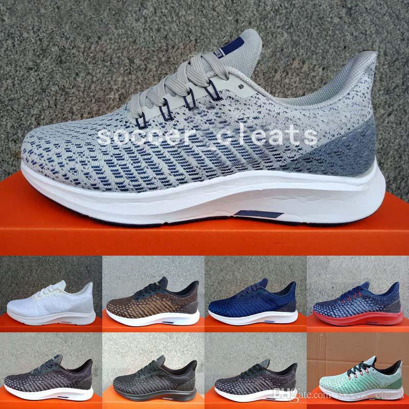 48d4919fb863a 2019 2019 New Zoom Pegasus 35 Turbo Running Shoes Brand Luxury Designer  Womens Mens Trainers Sneakers Pegasus 35 Lining Net Gauze Air Zapatos From  ...