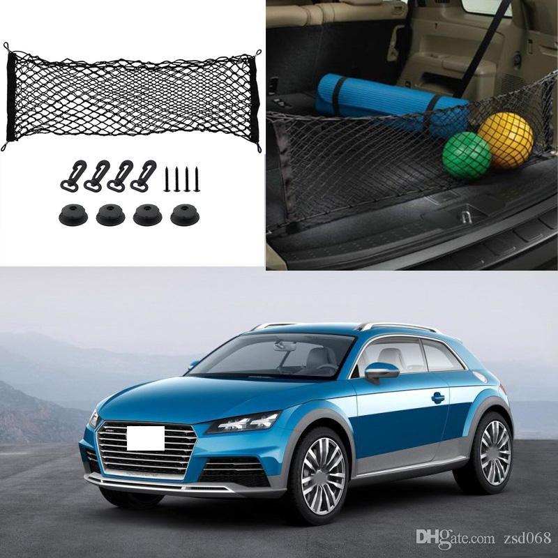 1x For Audi Allroad E Tron Quattro Car Auto Model Black Rear Trunk