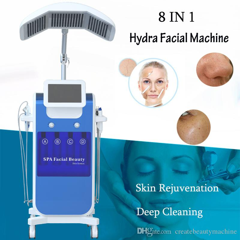 Hydro facial machine oxygen facial deep cleansing Hydro Dermabrasion Water Peeling diamond microdermabrasion machine Water Peeling
