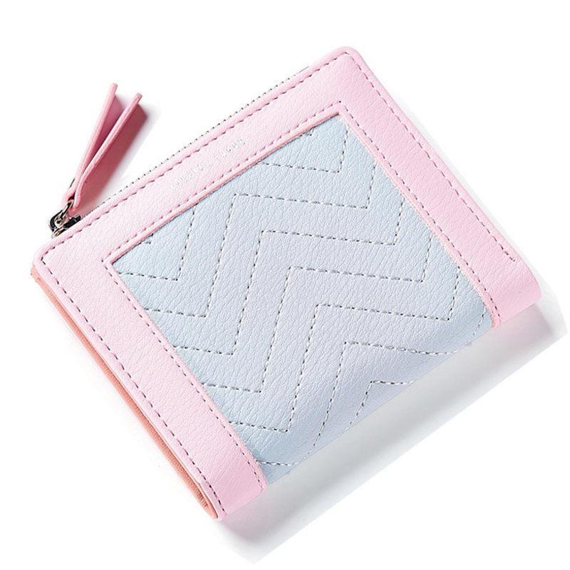 cd126fc40a2e8 Satın Al Kaliteli 2019 Yeni Tasarım Kadınlar Kısa Cüzdan Kadın Moda İşlevli  Para Çanta Para Cebi Pu Deri Kızlar Küçük Cüzdan, $26.1 | DHgate.Com'da