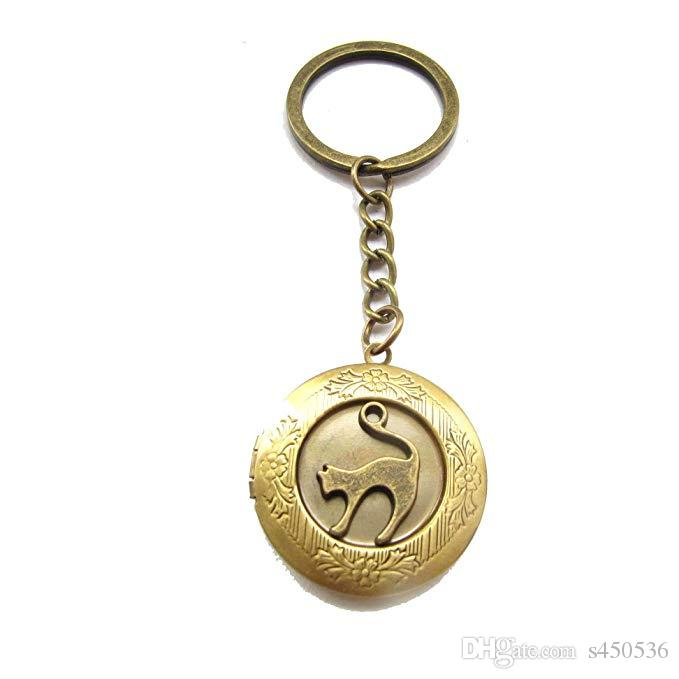 2019 Jewelry Keychain Locket Pet Necklace Cat Lover Gift Lovers Photo From S450536 586