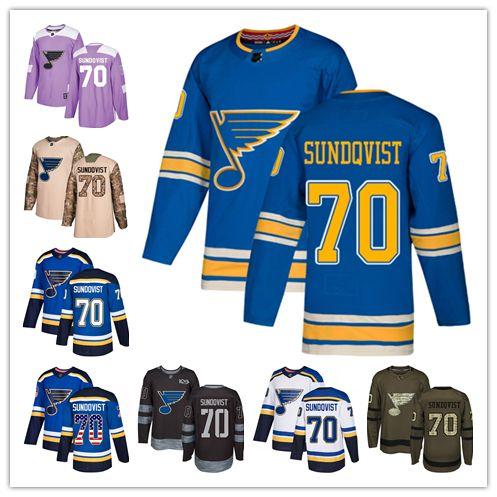 St. Louis Blues Jerseys  72 Oskar Sundqvist Jersey Hockey Men Women Youth  Royal Blue Home White Away Navy Blue Alternate Premier Jerseys UK 2019 From  Wk1403 ... 1ce22d5b0