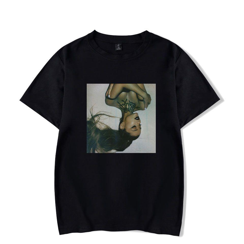 21087838 Ariana Grande Thank U Next Mujer Camiseta Mujer / hombre Verano Mangas  cortas O-cuello Camisetas Kpop Hip Hop Harajuku Streetwear Camiseta Top ...