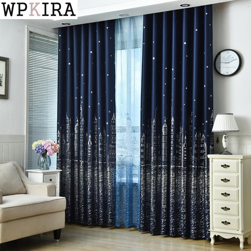 2019 Contemporary European Finished Curtains For Living Dining Style ...
