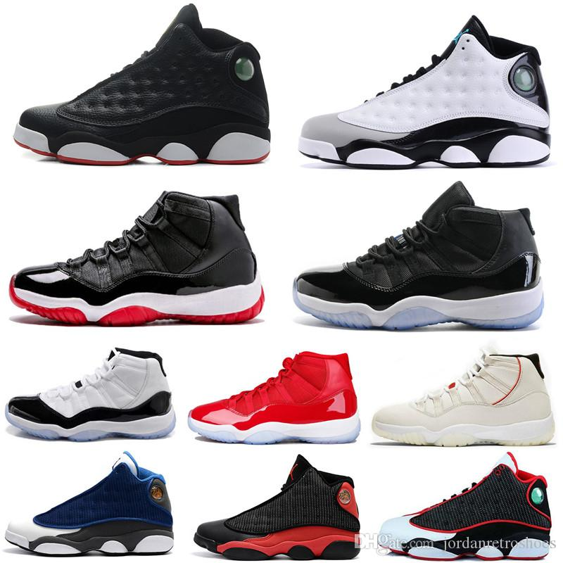 49343f35360 Men Basketball Shoes 11 Space Jam Bred Gamma Blue Men Women Platinum Tint  Concord 45 Legend Blue Sports Shoes Designer Sneakers Size 7 13 Men Sneakers  ...