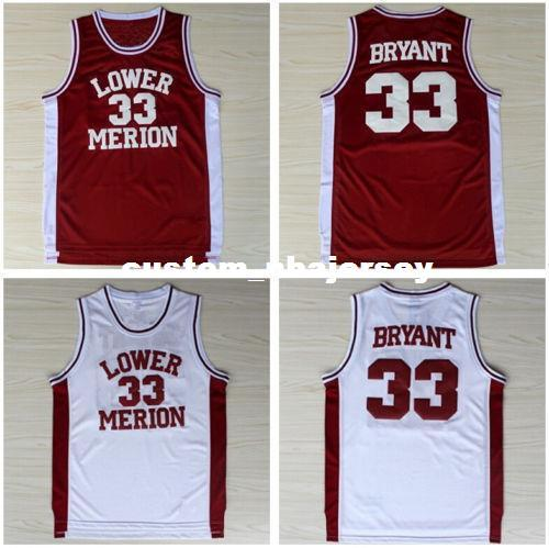 9bd646a20 2019 Cheap Custom  33 Lower Merion High School Basketball Sewn Jersey  Stitch Customize Any Number Name MEN WOMEN YOUTH XS 5XL From  Custom nbajersey
