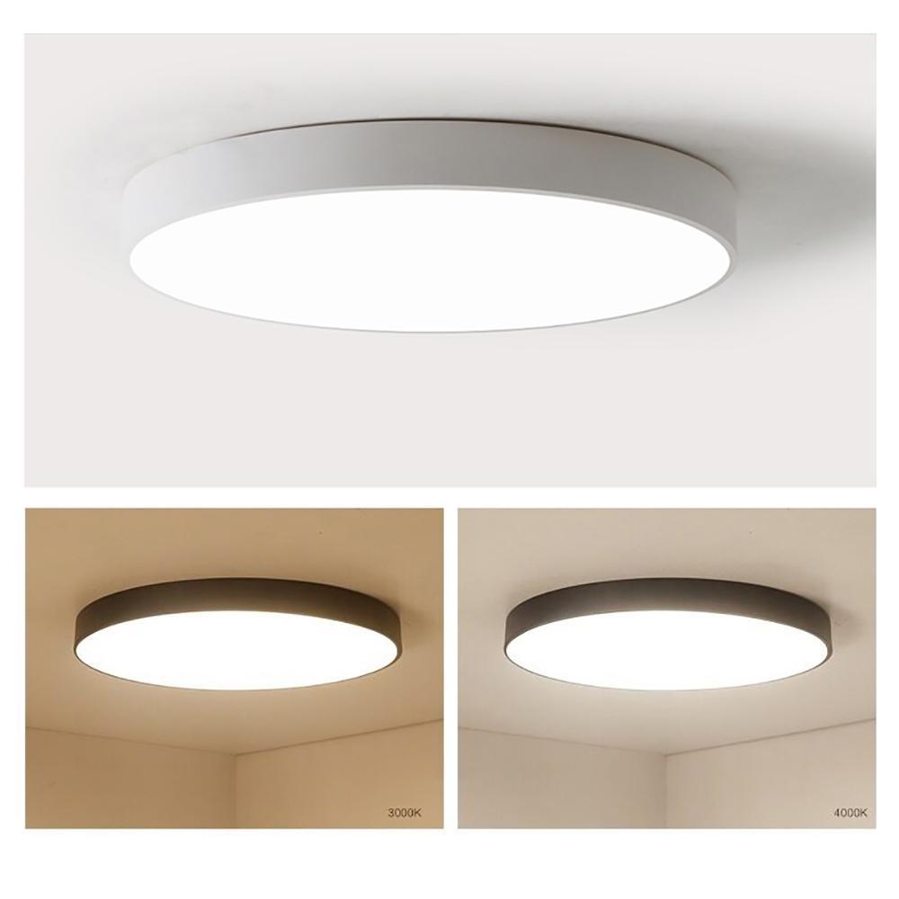 Fernbedienung moderne einfache runde ultradünne led deckenleuchten  wohnzimmer lichter led deckenleuchte schlafzimmer licht