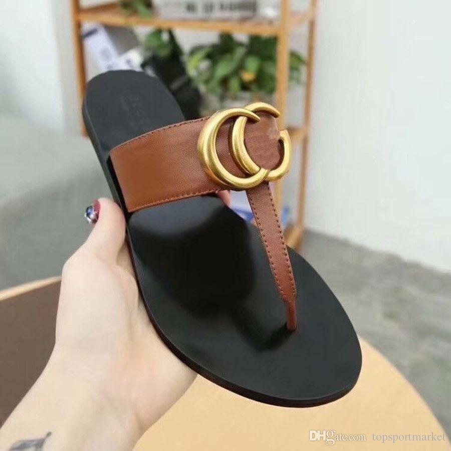 Женщины роскошные тапочки для десингера мода винограда мода скидка тонкие черные флипсайфы бренд обуви Ladie Beige Shoes Sandals Flippers GGFLIPFLOGS