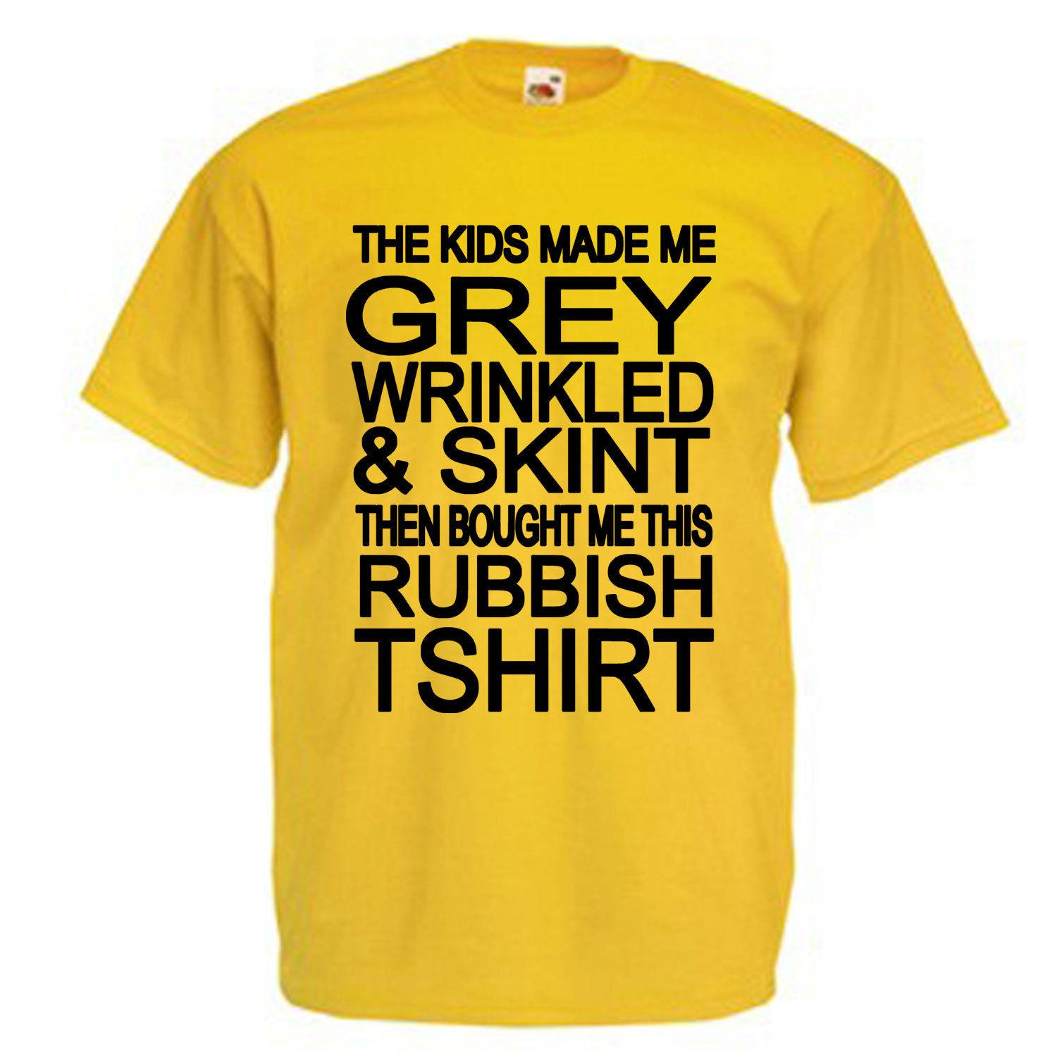1b4cdf268612 The Kids Made Me Adult T Shirt Men Women Unisex Fashion Tshirt Funny Cool  Top Tee Black Tees Shirts Cheap Design And Buy T Shirts From  Besttshirts201806, ...