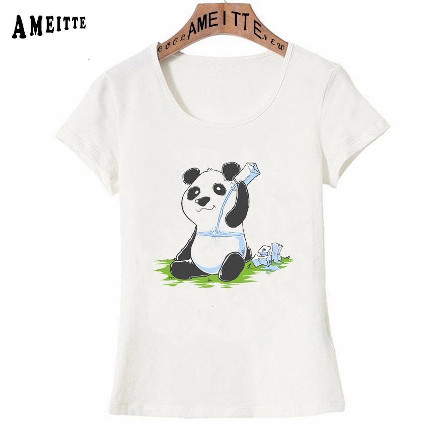 368761694 New Summer Cute Women T Shirt Panda In My Fillings Print T Shirt Fashion  Cool Girl Tops Funny Animal Design Woman Casual Tees T Shirt And Shirt Shop  T ...