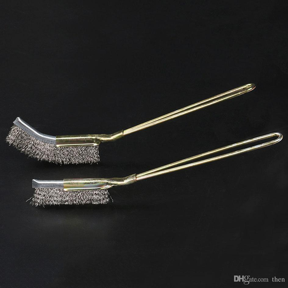 Stainless Steel Wire Brush Nylon Copper Wire Brushes Clean Derusting Tool Industrial Toothbrush Accessorry