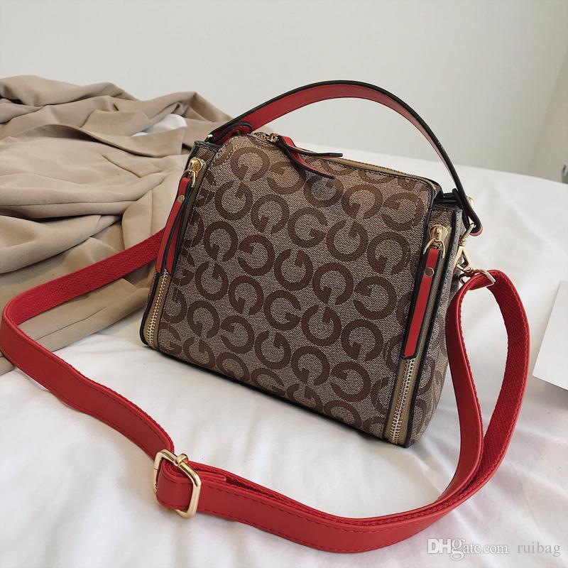 2019 New Sell Like Hot Cakes Lady PU Plaid Handbags Good Quality Handbag Bucket Bags Chain Messenger Bag Xianghe 4 Discount Designer Wholesale