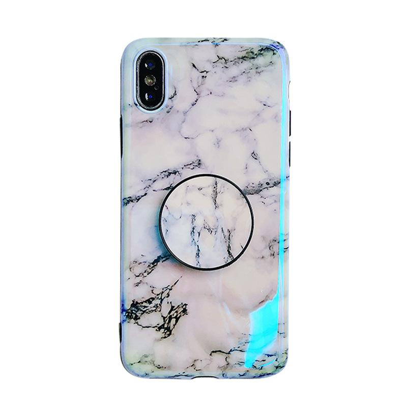 the latest 7d170 c1e30 Blu-ray marble style Phone case for IphoneXSMAX IphoneXR XS 7plus/8Plus 7/8  6plus/6sP 6/6s with IMD Printting cool soft case