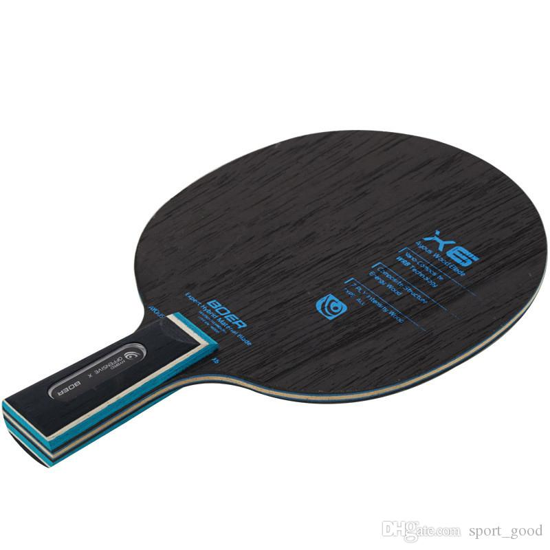 Professional 7 Layers Table Tennis Rackets Ping Pong Racket Paddle Bat  Table Tennis Raquets Penhold short Handle Shake Hand Grip long Handle Table  Tennis ... 6d7a25128d11d