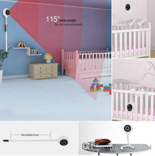 Detect Temperature&Humidity 1080P Mini IP Camera Wireless WiFi Security  Surveillance Camera Cloudedge app Baby Monitor