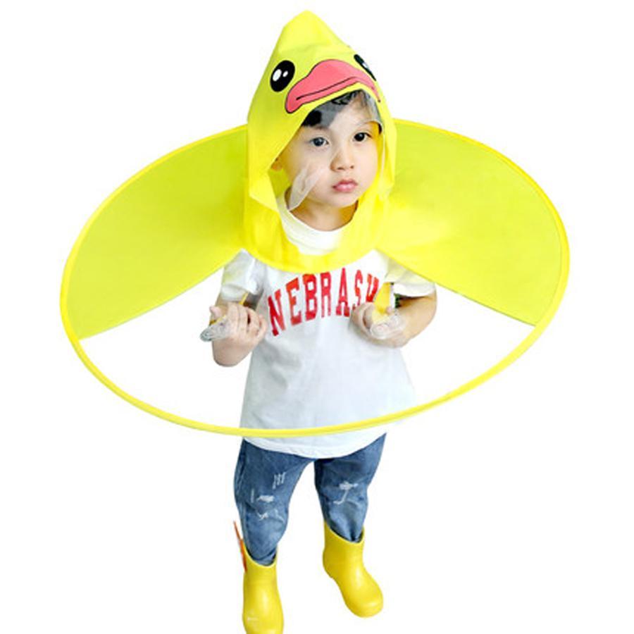 8496758780be Tik Tok Poncho Pvc Baby Raincoat Kids Girls Boys Impermeable Rain ...