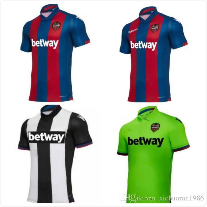 18 19 Camisetas De Fútbol De Levante UD 2018 2019 Camiseta De Fútbol De  Levante Camiseta Local S 2XL Por Xiebaoran1986 89c5246a0ecdc
