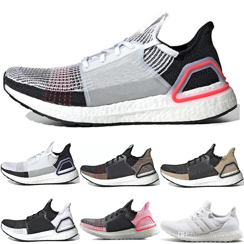 4d77273d85275 2019 2019 Ultra Boost 5.0 Ultraboost 19 Men Women Running Shoes Laser Red  Dark Pixel Refract Core Black Designer Trainer Sneakers From Qaz0626