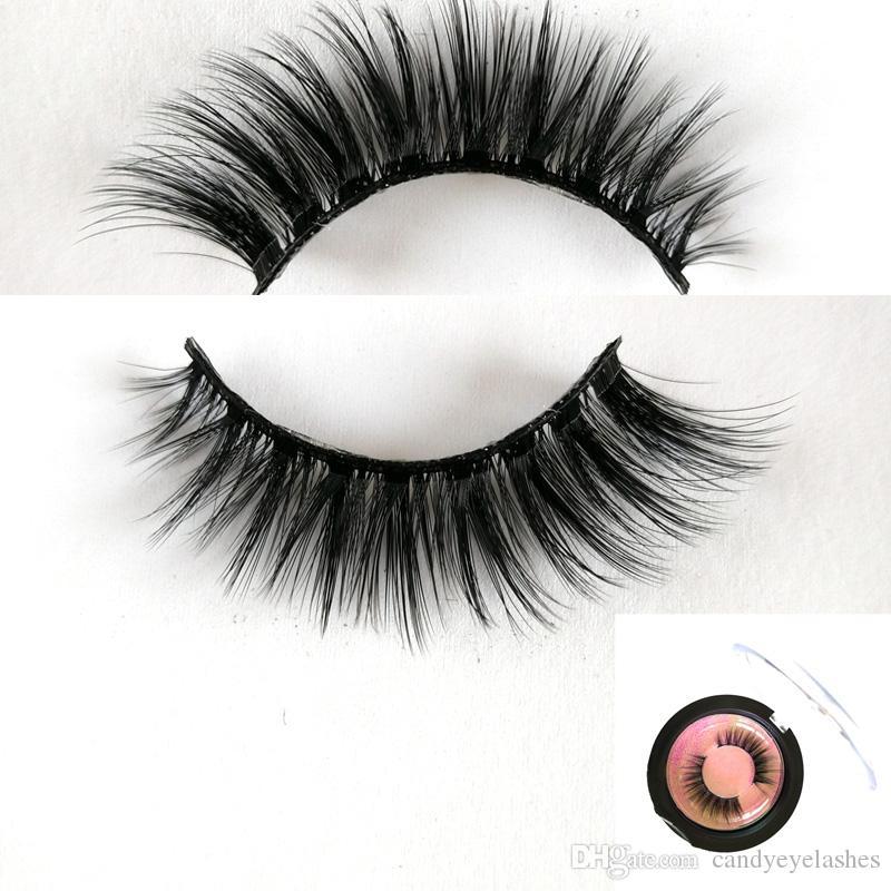 6d3fdb8a51e 3d Faux Mink Lashes Custom Eyelash Packaging 100% Handmade Faux Mink Lashes  Natural False Eyelashes Lashes Long Makeup 3d Mink L How To Put On False ...