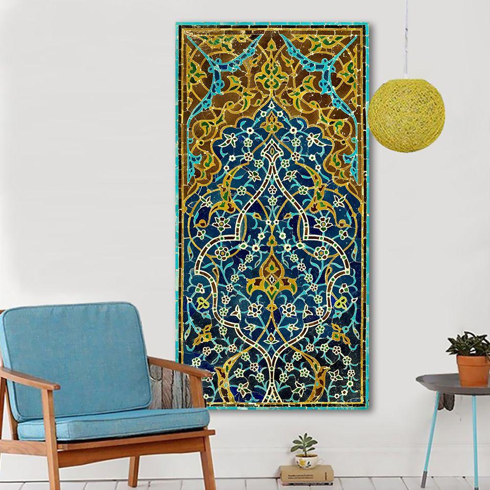 Großhandel 1 Stücke Wandkunst Mosaik Bild Leinwand Ölgemälde ...