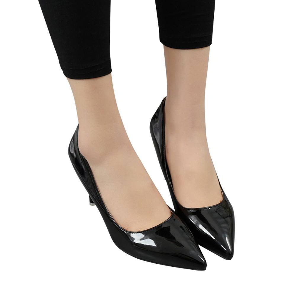 d2fc89de Compre Zapatos De Las Mujeres La Boca Baja Tacones De Aguja Boda Oficina  Oficina Ocio Punta Estrecha Boca Baja Boda Mujer Tacones Bombas # G2 A  $28.53 Del ...