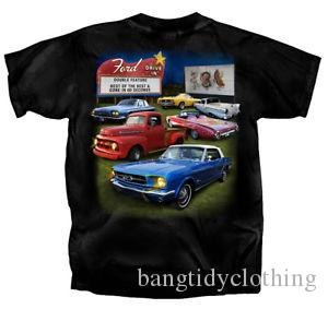 Ford Classics en un Drive In Mens camiseta