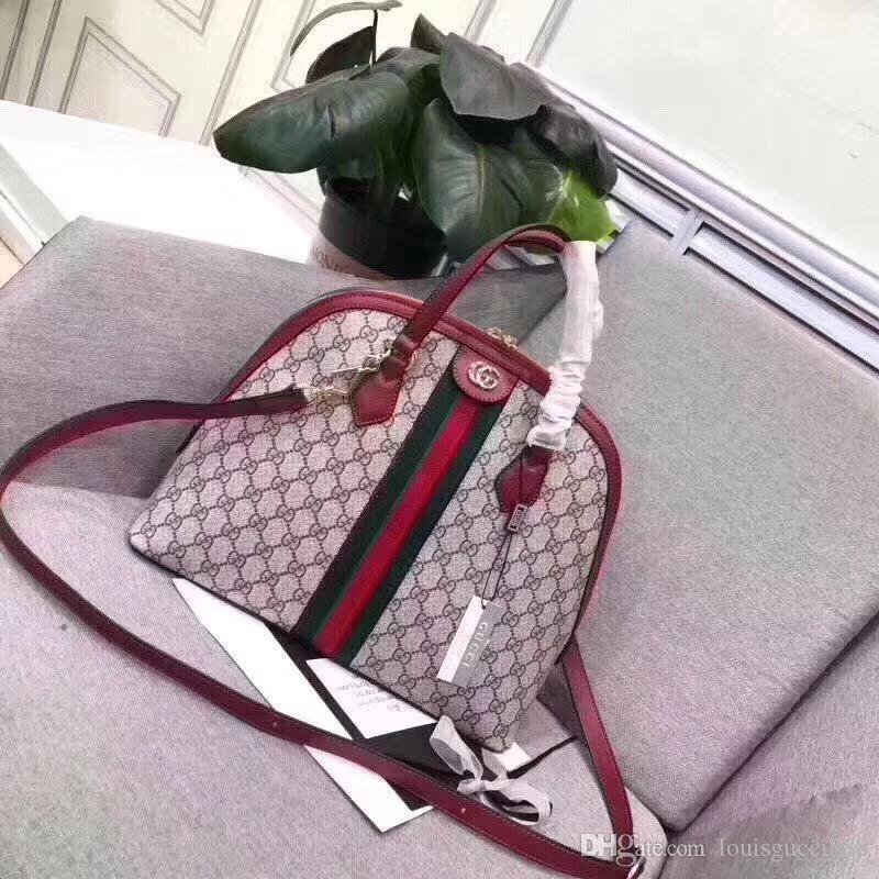e8e0f5b1e2e Hot Sale GUCCI Shell Bag Top Leather Shoulder Bag LOUIS VUITTON ...