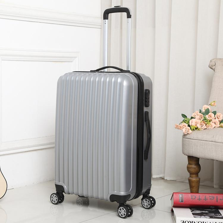 50df66ebe Mirror Travel Suitcase Hard Luggage Small Suitcase Luggage Trolley Universal  Wheel Men And Women 20 Inch 24 Inch Student Tide Mens Suitcases Elmo  Suitcase ...