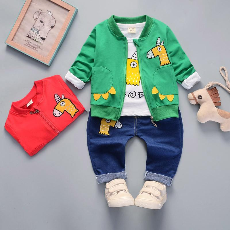 a9bb36a83 2019 Hot Sale 2019 New Active Casual Cartoon Children Set Kid Suit Baby Boy  Clothing Baby Boy Clothes Boys Clothing Clothing Set From Nextbest10, ...