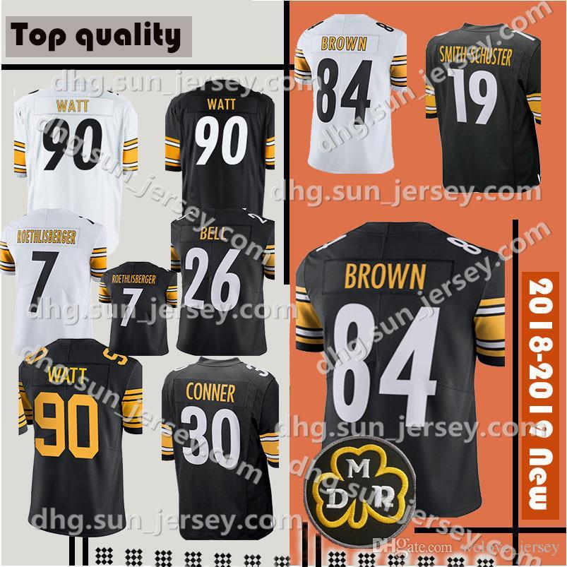 cf7a54ccacf Pittsburgh 19 Juju Smith-Schuster 84 Antonio Brown 90 T.J. Watt 26 ...