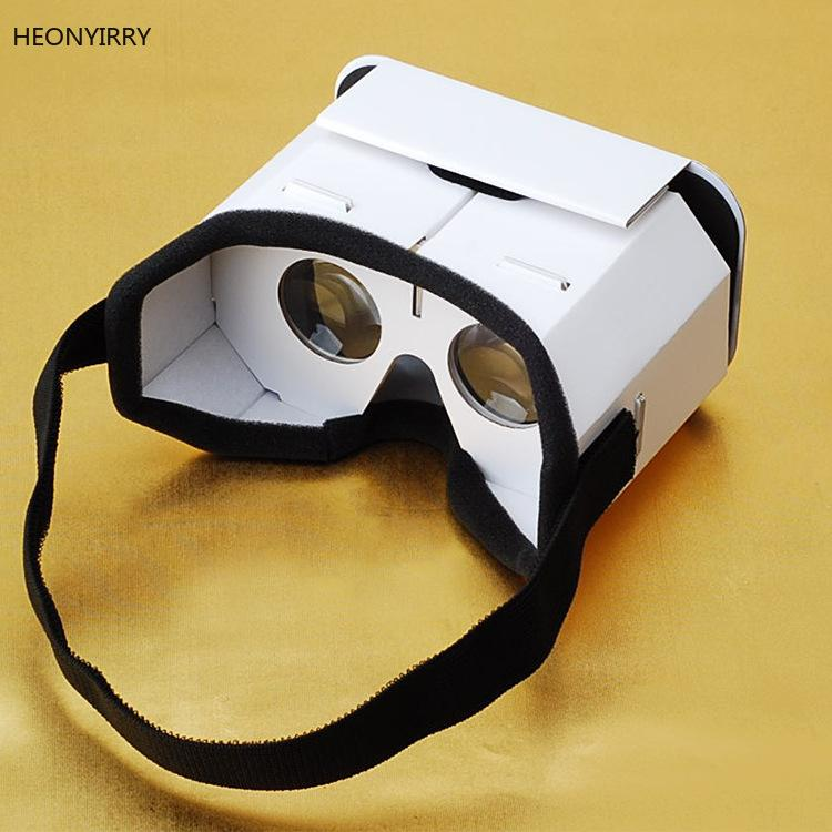 78626c33212 Compre DIY Gafas De Realidad Virtual Portátiles Google Cartón Gafas 3D Caja VR  Para Teléfonos Inteligentes Para Iphone X 7 8 VR A $35.88 Del Umbre    DHgate.