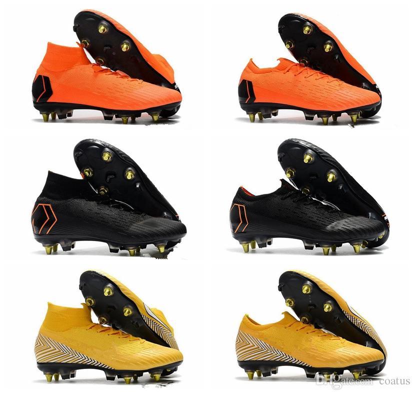 Ronaldo Nike Fg Ag Botas Mercurial 100Originales Superfly Botines Cr7 Niños Alto Para De Fútbol Tobillo Zapatos Cristiano Grises b7fYgy6