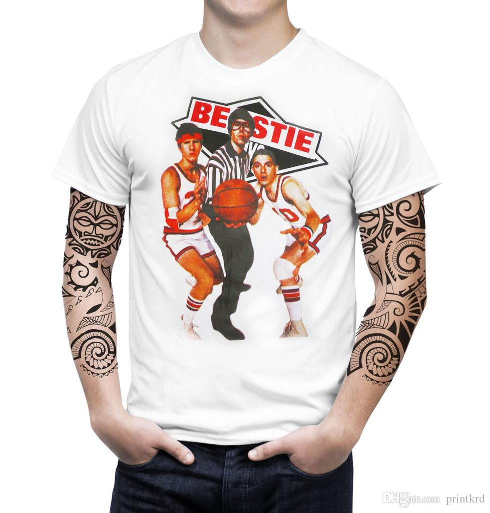 58302759235 Beastie Boys Vintage Retro Art Men T Shirt American Hip Hop Punk Rock Music  Band Great Tee Shirts Cool Tee Shirt From Tees365