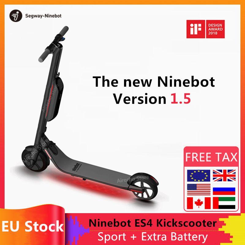 Hulajnoga elektryczna Ninebot ES4 z EU za $469.38 / ~1977zł