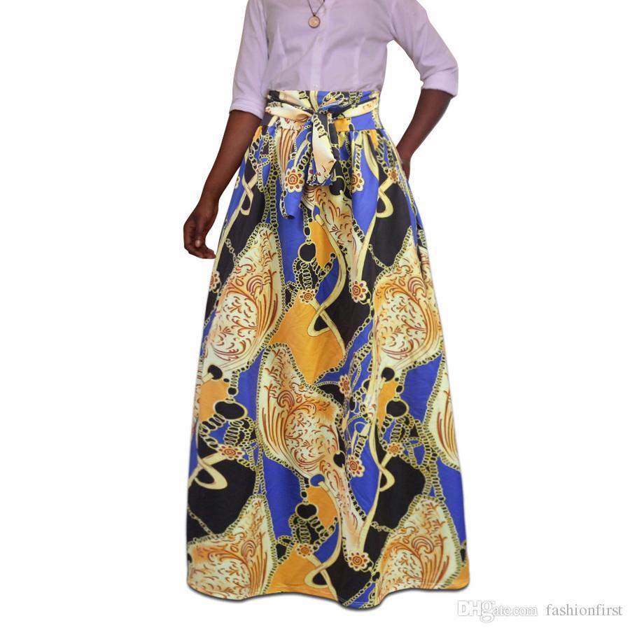 f5af06a0774 Popular African Print Skirt Cheap African Clothing Summer Skirt ...