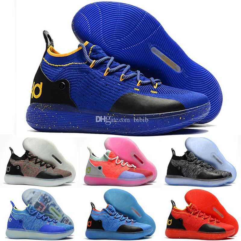 8fbdee9fe98 2019 KD 11 EP White Orange Foam Pink Paranoid Oreo ICE Mens Kids Basketball Shoes  Kevin Durant XI KD11 Trainers Sneakers Black Running Shoes Sneakers For ...