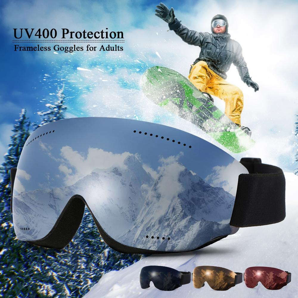 238e18969b 2019 BH502 Anti Fogging Goggle Skiing UV400 Protective Goggles OTG Climbing  Skating Snow Sports Goggles Men Women Sports From Raisins