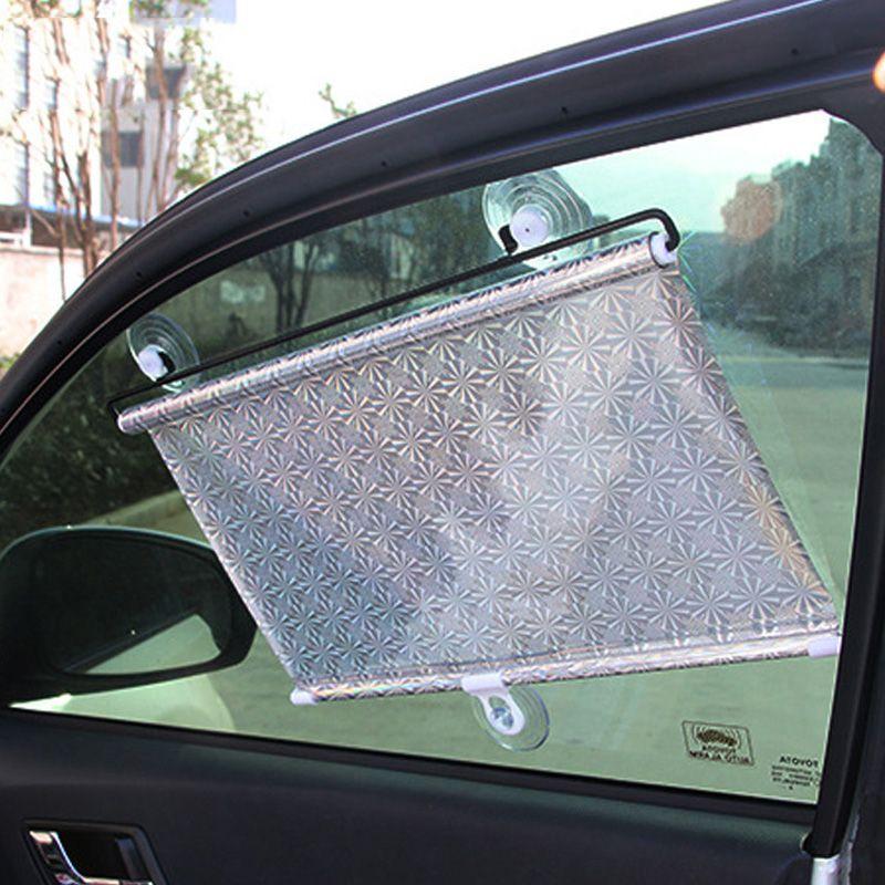 Auto Neu Sun Visor Shade UV Protect Retractable Side Window Curtain Mesh Screen
