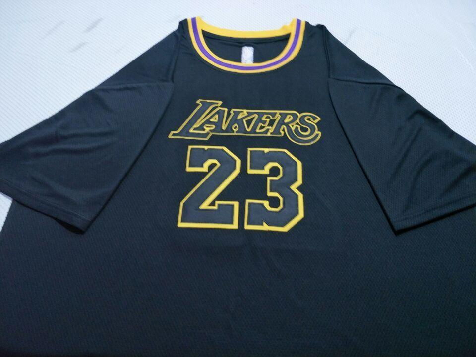 best website 7b676 82550 Men Short sleeve LeBron #23 James Swingman Black Jersey college Jersey SIZE  S-4XL Personalized or custom any name or number jersey